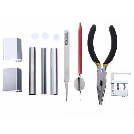 Kit d'outils de serrurier pour outil de démontage de verrou professionnel HUK 12 en 1 Sasicare