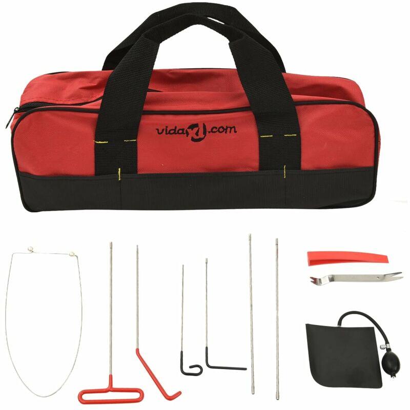 Vidaxl - Kit d'outils pour ouvre-porte de voiture 11 pcs