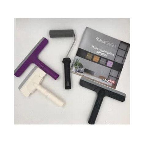 Kit d'outils Spécial enduit de décoration - Magic'Outils - kit complet