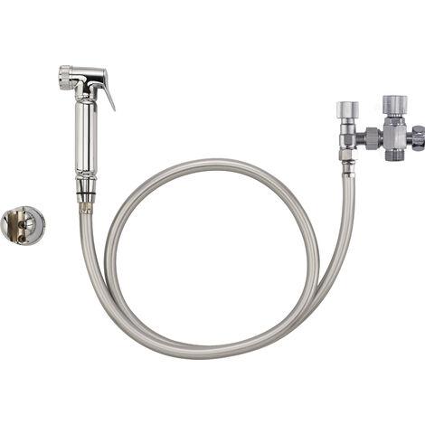 Kit ducha de mano para WC/BIDE PREMIUM - grifo de 3 vías