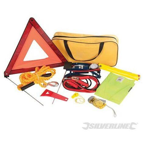 Kit d'urgence voiture, 9 pcs