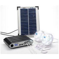 Kit eclairage solaire HUBI 2000 PLUS