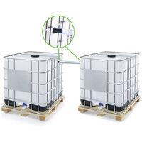 Kit ECO de couplage 2 cuves à eau 1000 l - Ø 40 mm