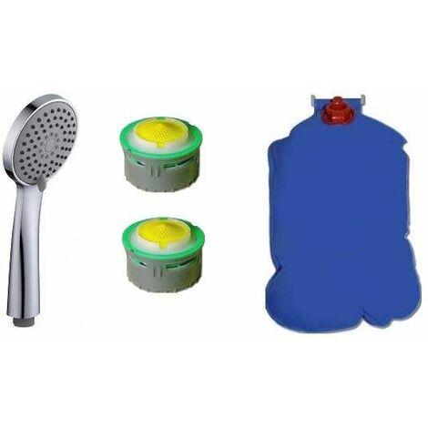 Kit économie d'eau cuisine, salle de bain et wc