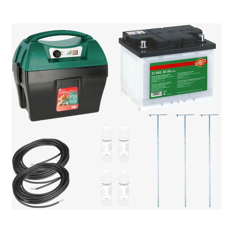 Direct Filet - Kit Electrificateur mobile 12 V