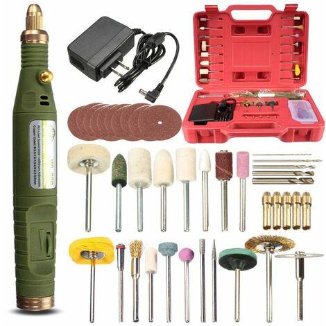 Kit Electrique Dremel Rotatif Outil Accessoires Vitesse Variable AC110-240V 18V