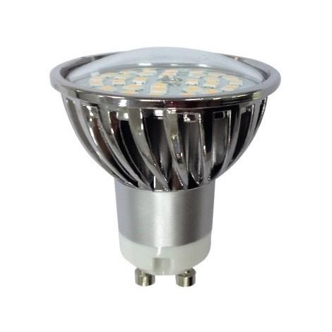 Kit empotrable ZETA (acero + marrón)   LED 7W (cálida)