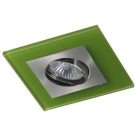 Kit empotrable ZETA (niquel + verde)