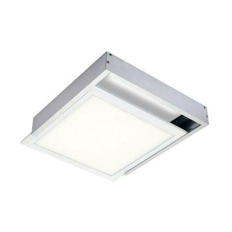 Kit en Saillie ALU pour Panneau LED 30x30 Slim - Aluminium
