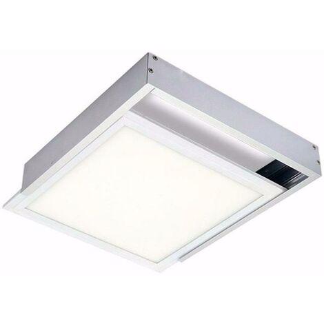 Kit en Saillie ALU pour Panneau LED 60x60 Slim - Aluminium - SILAMP