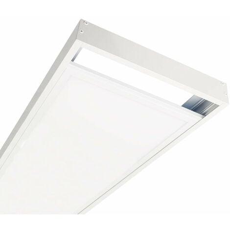 Kit en Saillie BLANC pour Panneau LED 120x30 Slim - Blanc