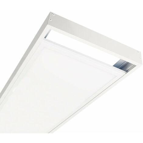 Kit en Saillie BLANC pour Panneau LED 120x30 Slim - Blanc - SILAMP