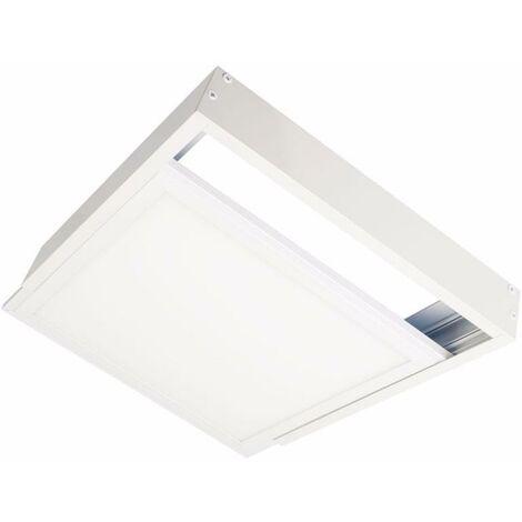Kit en Saillie BLANC pour Panneau LED 60x60 Slim - Blanc - SILAMP