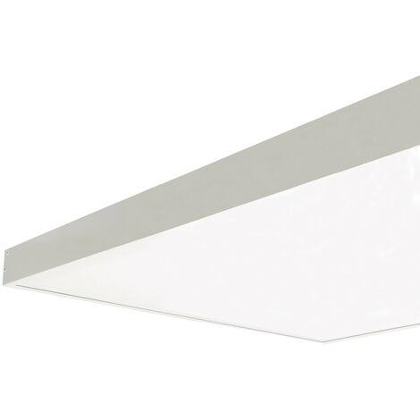 Kit en saillie pour Panneau 120x60cm Blanc - Blanc