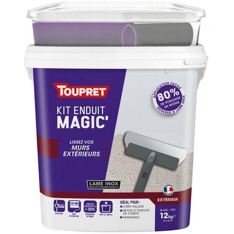 Kit enduit Magic' extérieur pâte 12kg
