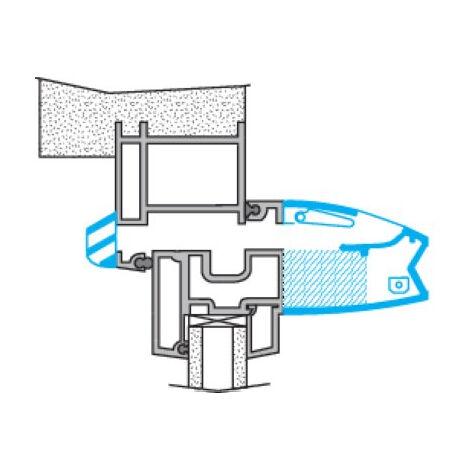 Kit entrée d'air hygroréglable acoustique EHL 6-45L Ivoire ALDES - 11014071