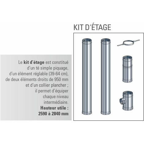 Kit étage 130 Multi+ int.