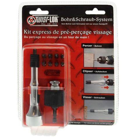Kit express de pré-perçage/vissage