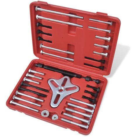 Kit extracteur de moyeu 45 pièces
