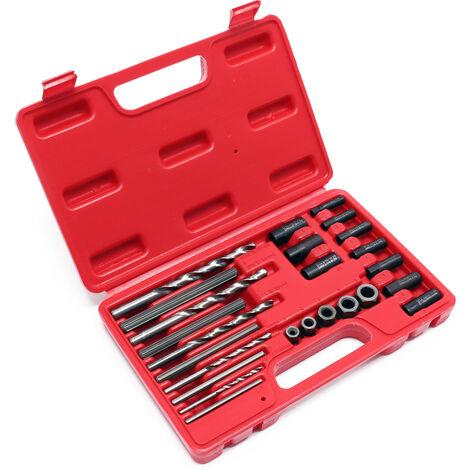 Kit extracteur de vis 25 pcs. extracteur de boulons extracteur de gauche kit