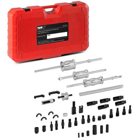 Kit Extracteur Injecteur Diesel Coffret Outils Delphi Bosch Denso Siemens 40 Pcs