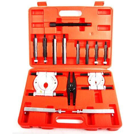 Kit extractor de rodamientos poleas separador cojinetes tipo guillotina taller