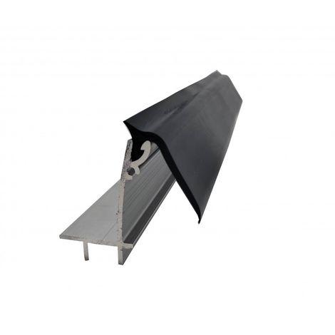 Kit faîtage supérieur pour couverture en polycarbonate L 4 m
