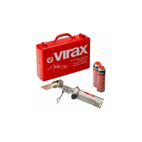 Kit fer à souder autonome + 2 cartouches Virax 521850 Virax