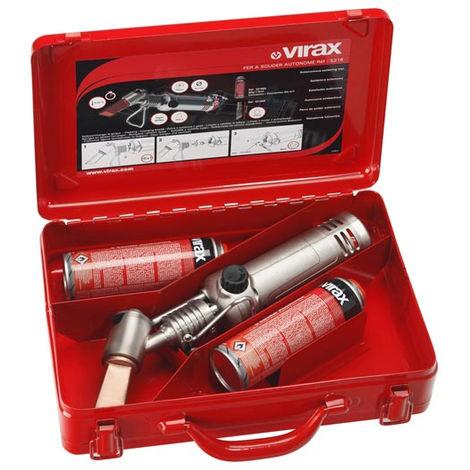 Kit fer à souder autonome VIRAX - 2 cartouches - 521850
