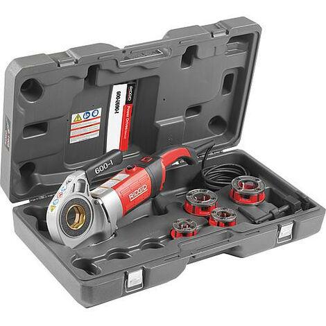 """Kit Filière électrique 600-I DN15 (1/2"""") jusqu'à DN32 (1 1/4"""") 230V dans mallette"""