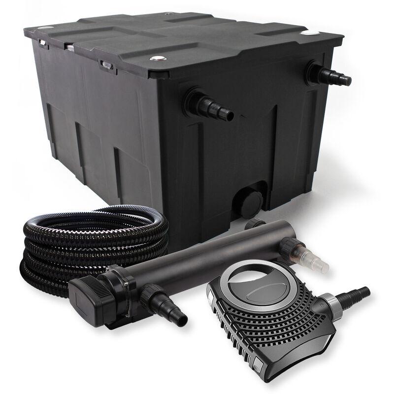 Wiltec - SunSun Kit de filtration de bassin 60000l 36W UVC 3. Stérilisateur NEO8000 70W Pompe Tuyau