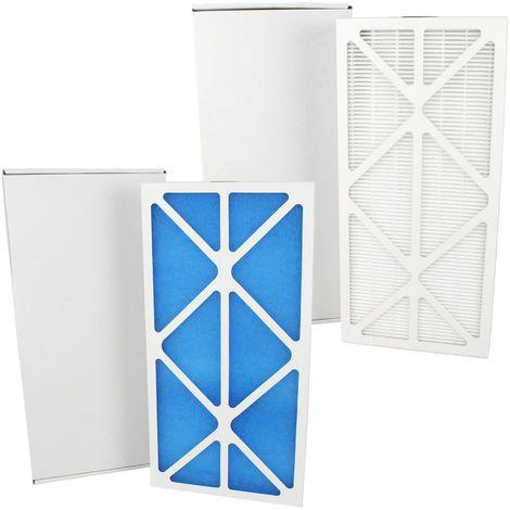 Kit filtre à air G4 / F7 compatible VMC Unelvent 600914 pour Ideo 325 et Initia 225 EcoWatt