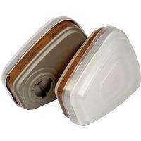 Kit filtre anti-poussière et filtre anti-gaz A2 P3 R 3M - 6003PT0