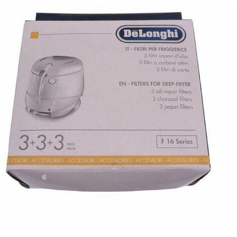 Kit filtres (37455-13445) (5525112900) Friteuse DELONGHI