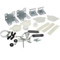 Kit fixation d'habillage de porte pour Lave-vaisselle Ikea
