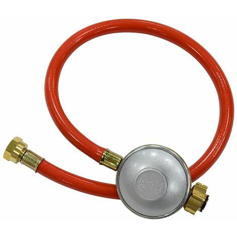 Kit flexible gaz 0.75m avec détendeur pour 37mbar propane & 29mbar butane