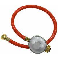 Kit flexible gaz 1m avec détendeur pour 37mbar propane & 29mbar butane