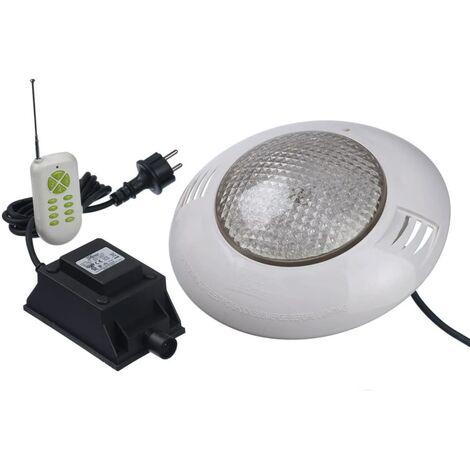 Kit foco LED para piscina con mando a distancia Ubbink 406 7504613