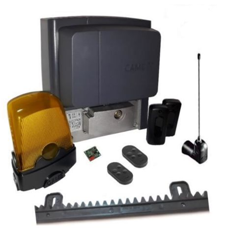 Kit For Sliding Gates Of A Weighing Up To 400 Kg Length 4-6 M Came Bx704Ags + 2 Pieces Came Top D4Fks