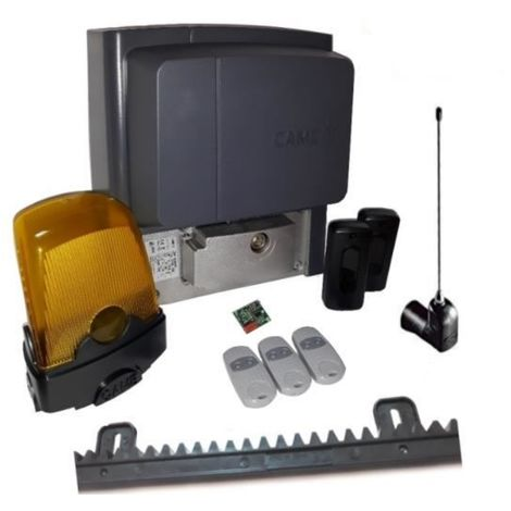 Kit For Sliding Gates Of A Weighing Up To 400 Kg Length 4-6 M Came Bx704Ags + 3 Pieces Came Top 432Ee