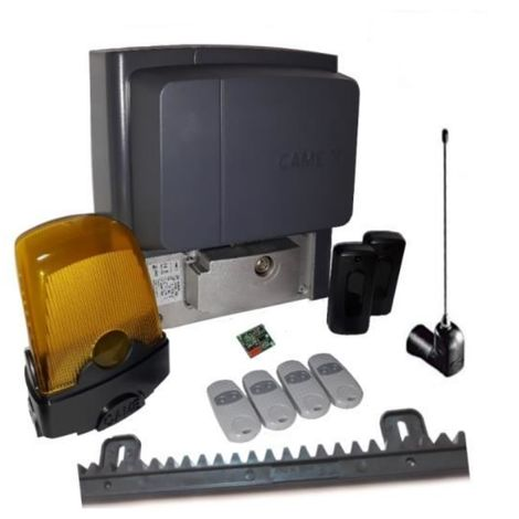 Kit For Sliding Gates Of A Weighing Up To 400 Kg Length 4-6 M Came Bx704Ags + 4 Pieces Came Top 432Ee