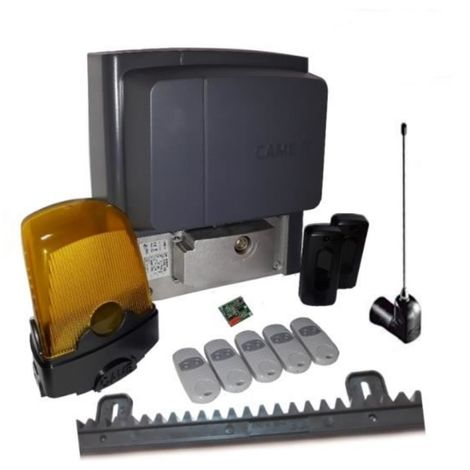 Kit For Sliding Gates Of A Weighing Up To 400 Kg Length 4-6 M Came Bx704Ags + 5 Pieces Came Top 432Ee