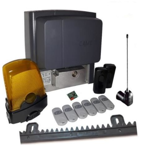 Kit For Sliding Gates Of A Weighing Up To 400 Kg Length 4-6 M Came Bx704Ags + 6 Pieces Came Top 432Ee