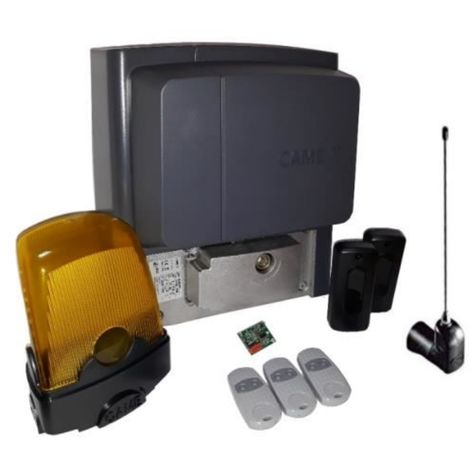Kit For Sliding Gates Weighing Up To A 400 Kg Came Bx704Ags + 3 Pieces Came Top 432Ee
