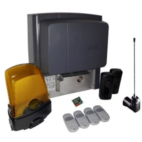 Kit For Sliding Gates Weighing Up To A 400 Kg Came Bx704Ags + 4 Pieces Top Came 432Ee