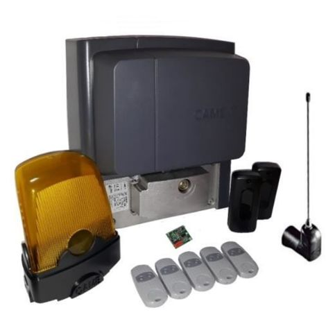 Kit For Sliding Gates Weighing Up To A 400 Kg Came Bx704Ags + 5 Pieces Came Top 432Ee