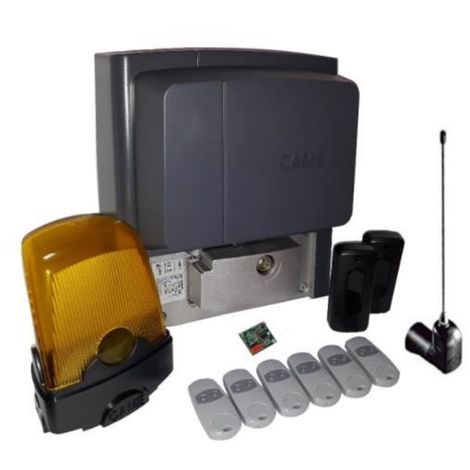 Kit For Sliding Gates Weighing Up To A 400 Kg Came Bx704Ags + 6 Pieces Came Top 432Ee