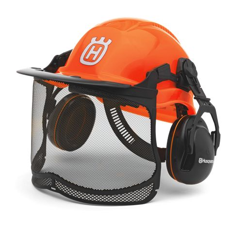 Kit Forestal Functional con casco, orejeras y pantalla
