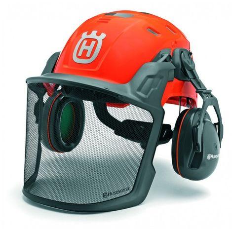 Kit Forestal Technical con casco, orejeras y pantalla