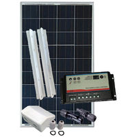Kit fotovoltaico per camper 100Wp BASE